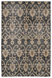 Kaleen Restoration RES01-02 Black Area Rug main image