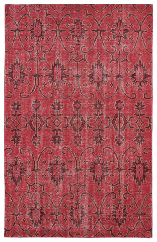 Kaleen Restoration RES01-25 Red Area Rug main image