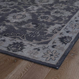 Kaleen Restoration RES02-02 Black Hand Knotted Area Rug