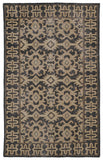 Kaleen Restoration RES04-02 Black Area Rug