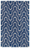 Kaleen Revolution REV01-22 Navy Area Rug main image