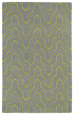 Kaleen Revolution REV01-75 Grey Area Rug