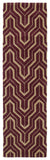 Kaleen Revolution REV01-87 Plum Area Rug Runner Shot