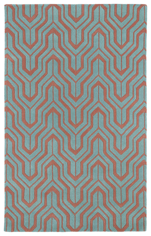Kaleen Revolution REV01-92 Pink Area Rug