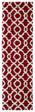 Kaleen Revolution REV03-25 Red Area Rug Runner Shot