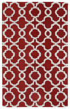 Kaleen Revolution REV03-25 Red Area Rug main image