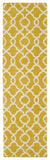 Kaleen Revolution REV03-28 Yellow Area Rug Runner Shot
