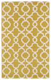 Kaleen Revolution REV03-28 Yellow Area Rug main image