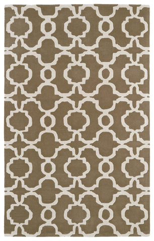 Kaleen Revolution REV03-82 Light Brown Area Rug main image