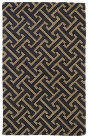 Kaleen Revolution REV04-38 Charcoal Area Rug main image