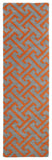 Kaleen Revolution REV04-75 Grey Area Rug Runner Shot