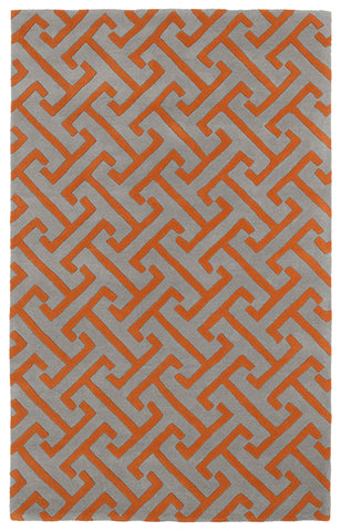 Kaleen Revolution REV04-75 Grey Area Rug main image