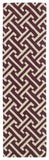 Kaleen Revolution REV04-87 Plum Hand Tufted Area Rug