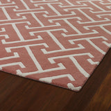 Kaleen Revolution REV04-92 Pink Hand Tufted Area Rug