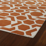 Kaleen Revolution REV05-89 Orange Hand Tufted Area Rug