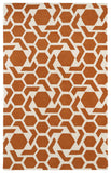 Kaleen Revolution REV05-89 Orange Area Rug