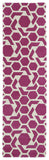 Kaleen Revolution REV05-92 Pink Hand Tufted Area Rug
