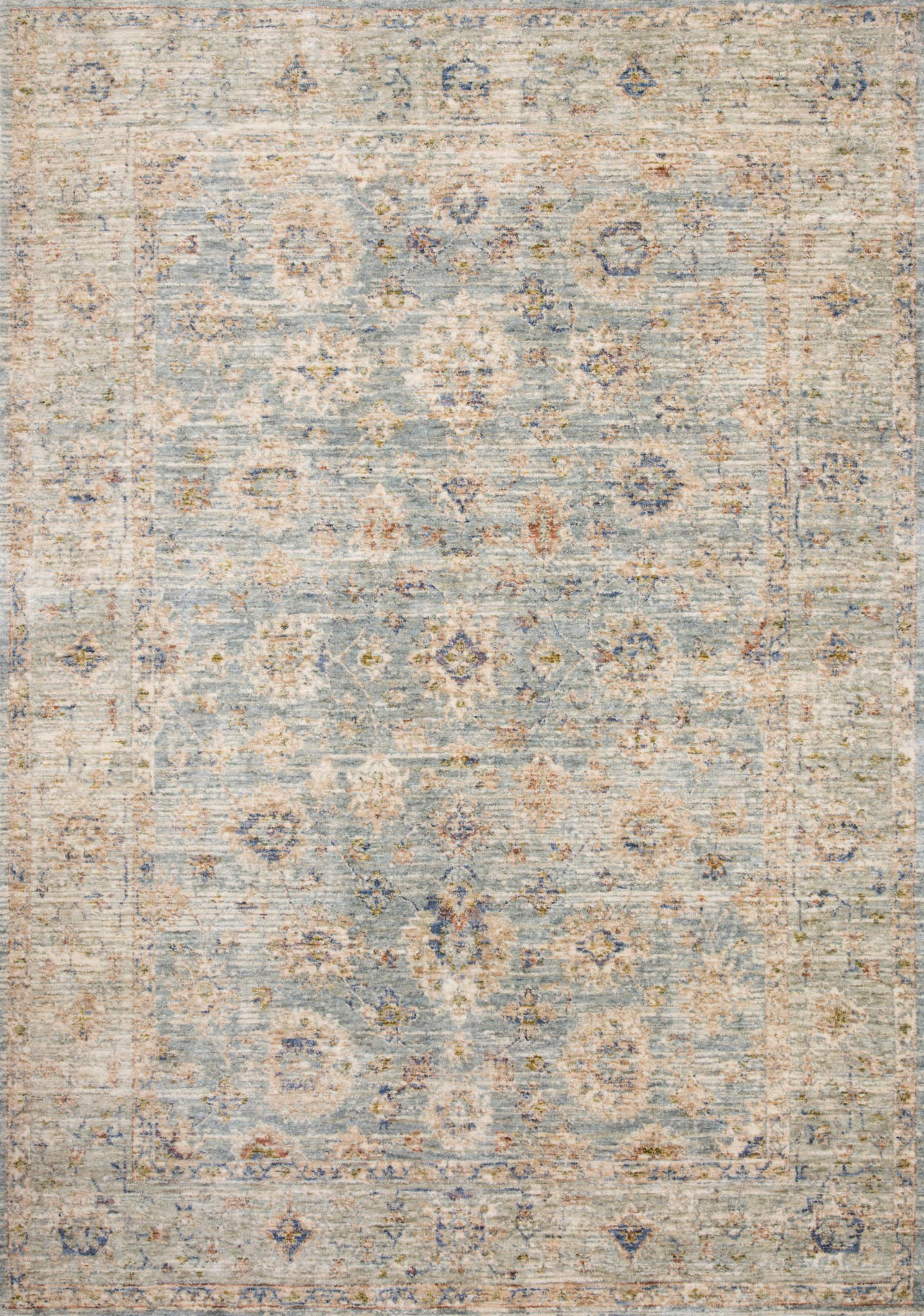 Loloi Revere REV-09 Light Blue/Multi Area Rug main image