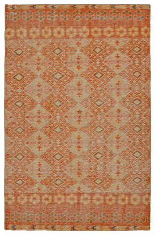 Kaleen Relic RLC04-89 Orange Area Rug main image