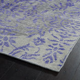Kaleen Relic RLC08-95 Purple Hand Knotted Area Rug