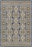 Artistic Weavers Roosevelt Albany Navy Blue/Light Yellow Area Rug main image