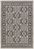 Artistic Weavers Roosevelt Albany Onyx Black/Charcoal Area Rug main image