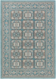 Artistic Weavers Roosevelt Albany Turquoise/Gray Area Rug main image