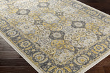 Artistic Weavers Roosevelt Alto Light Yellow/Charcoal Area Rug Corner Shot