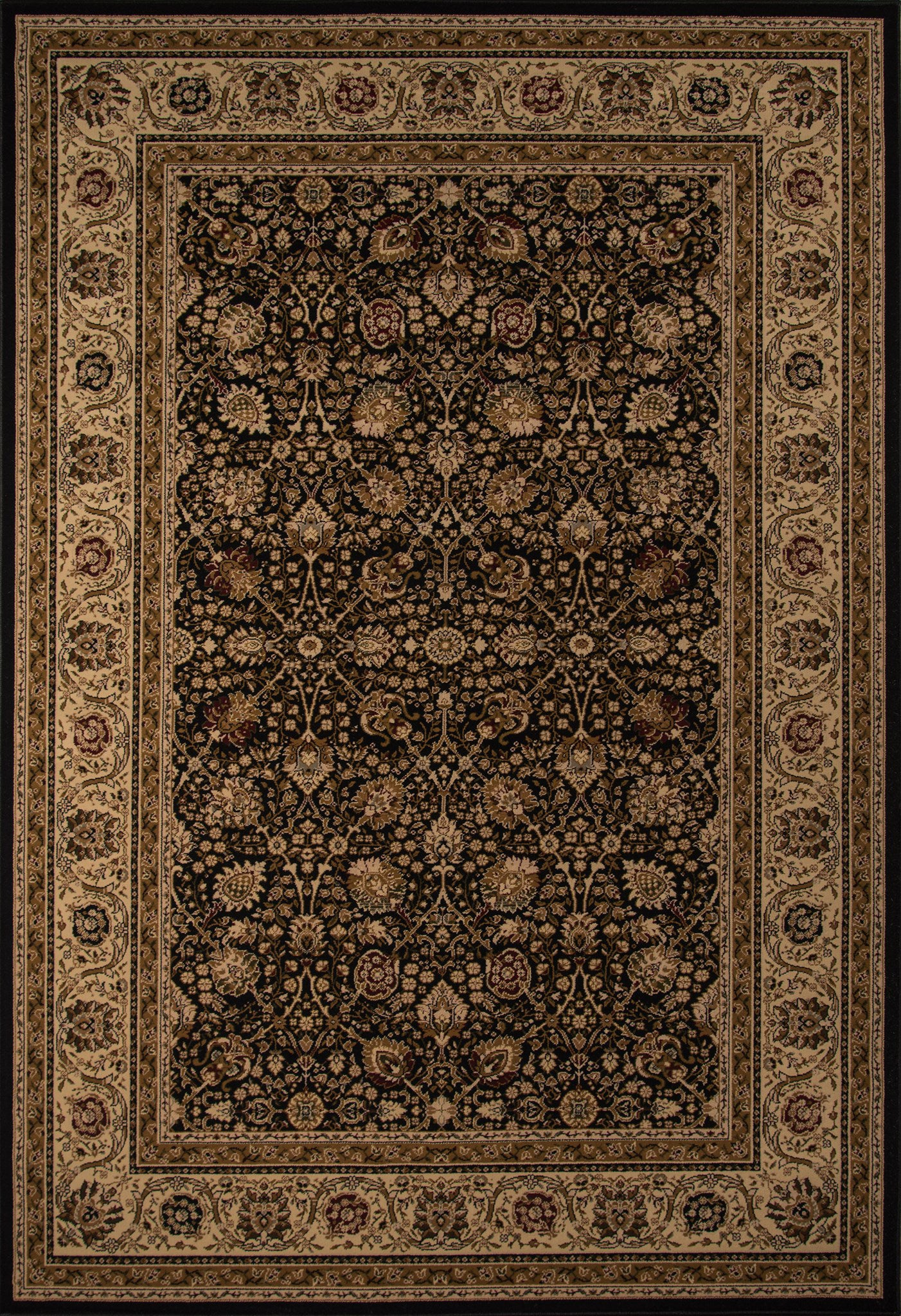 Momeni Royal RY-02 Black Area Rug main image