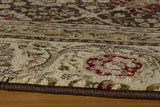 Momeni Royal RY-02 Brown Area Rug Closeup