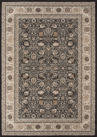 Momeni Royal RY-02 Charcoal Area Rug main image