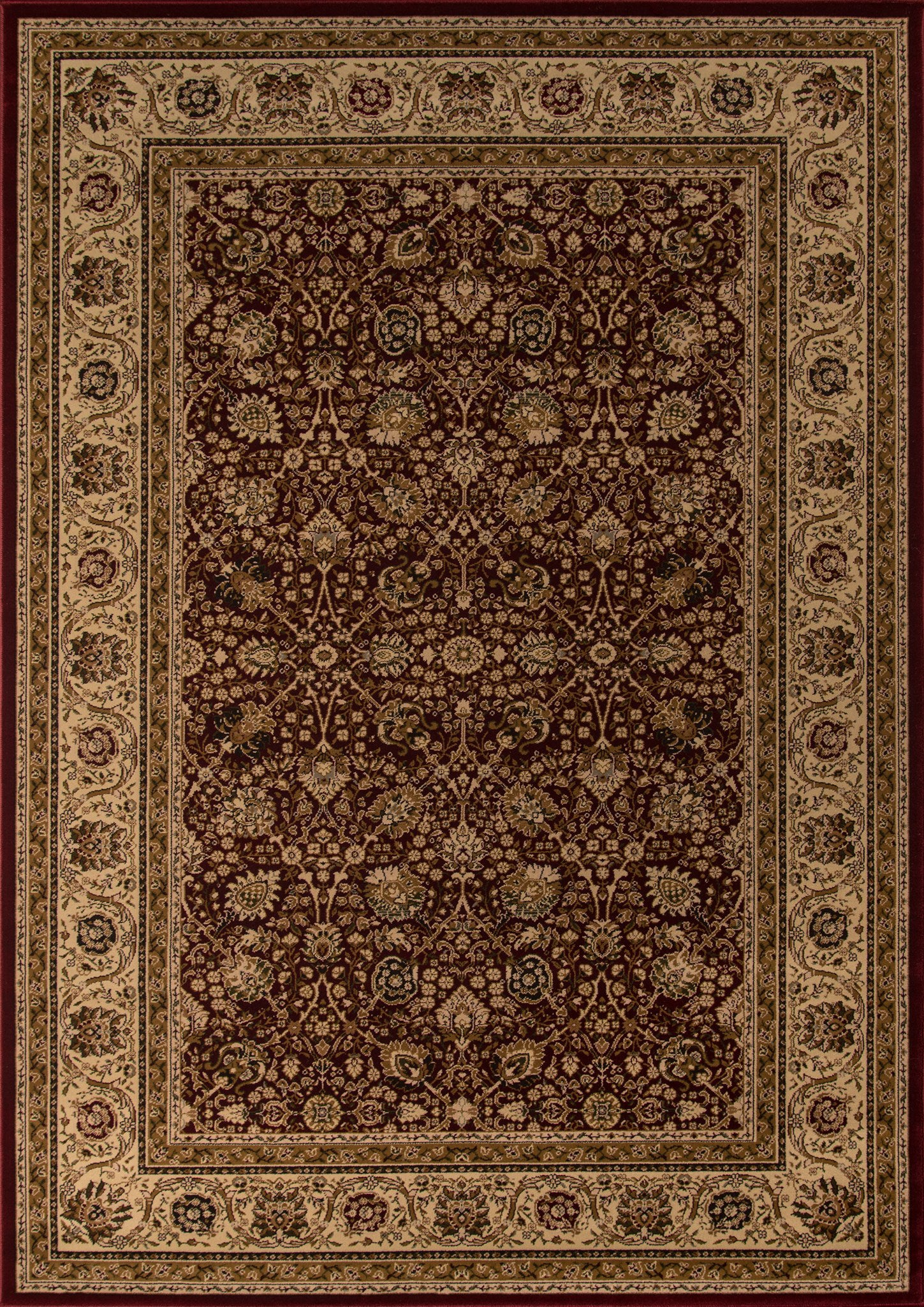 Momeni Royal RY-02 Red Area Rug main image