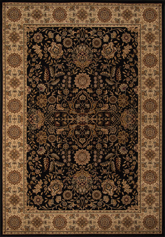 Momeni Royal RY-03 Black Area Rug main image