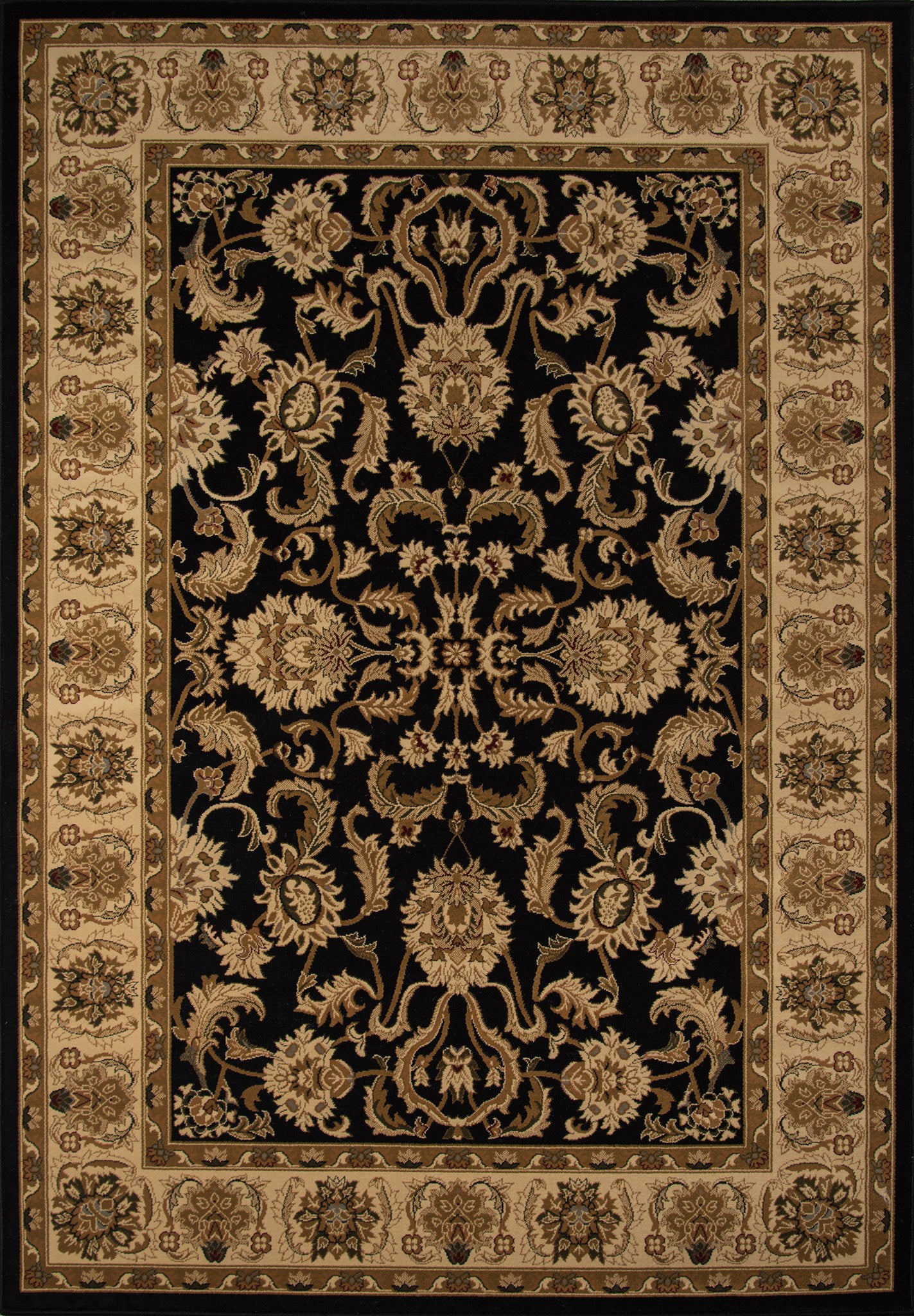 Momeni Royal RY-04 Black Area Rug main image