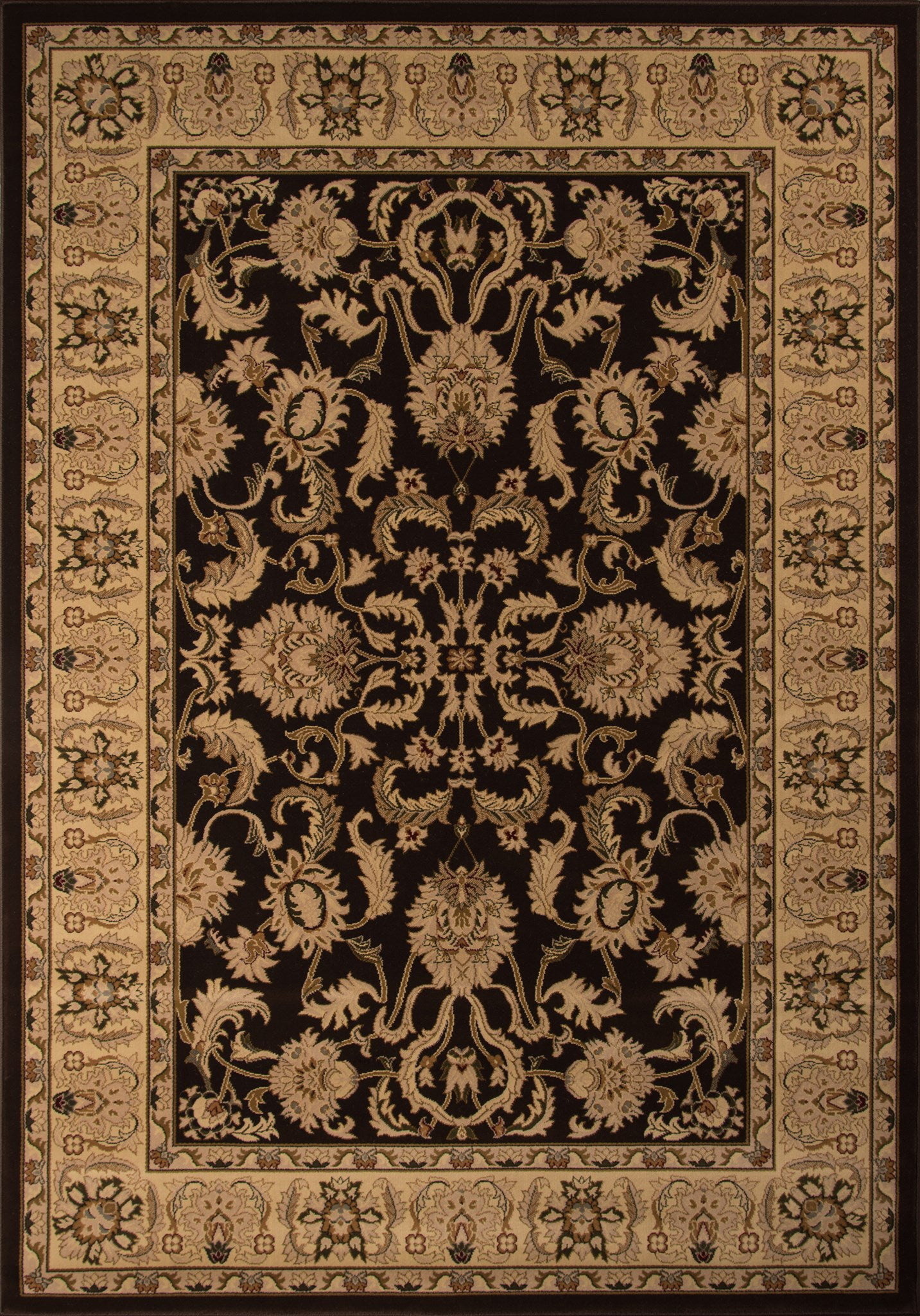 Momeni Royal RY-04 Brown Area Rug main image