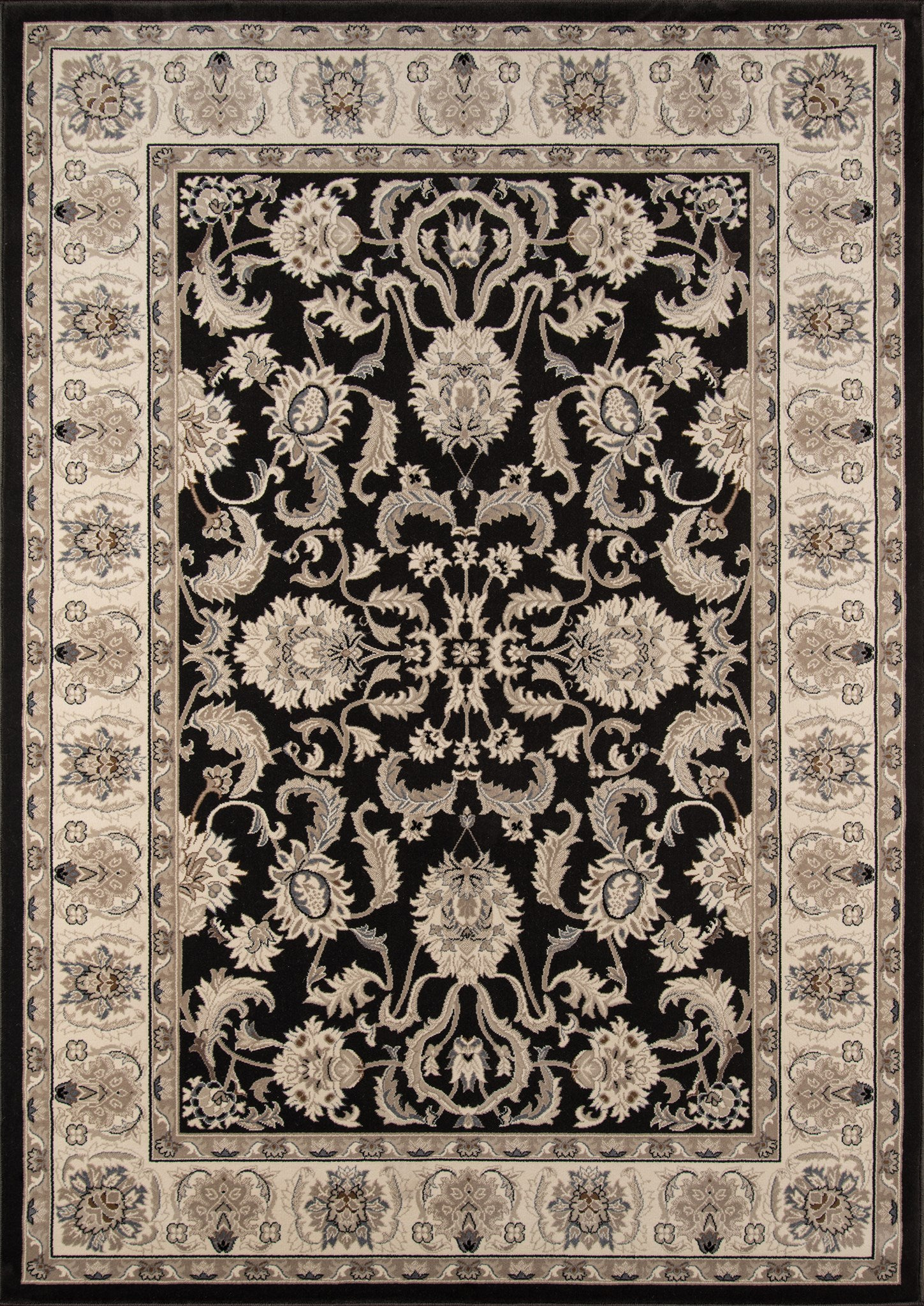 Momeni Royal RY-04 Charcoal Area Rug main image