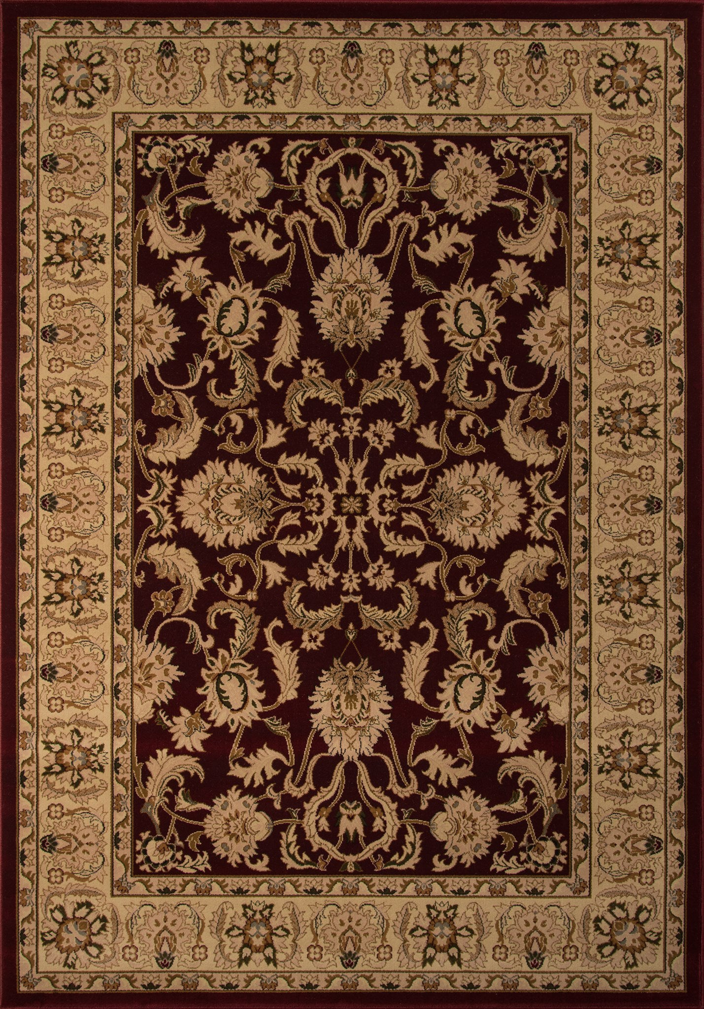 Momeni Royal RY-04 Red Area Rug main image