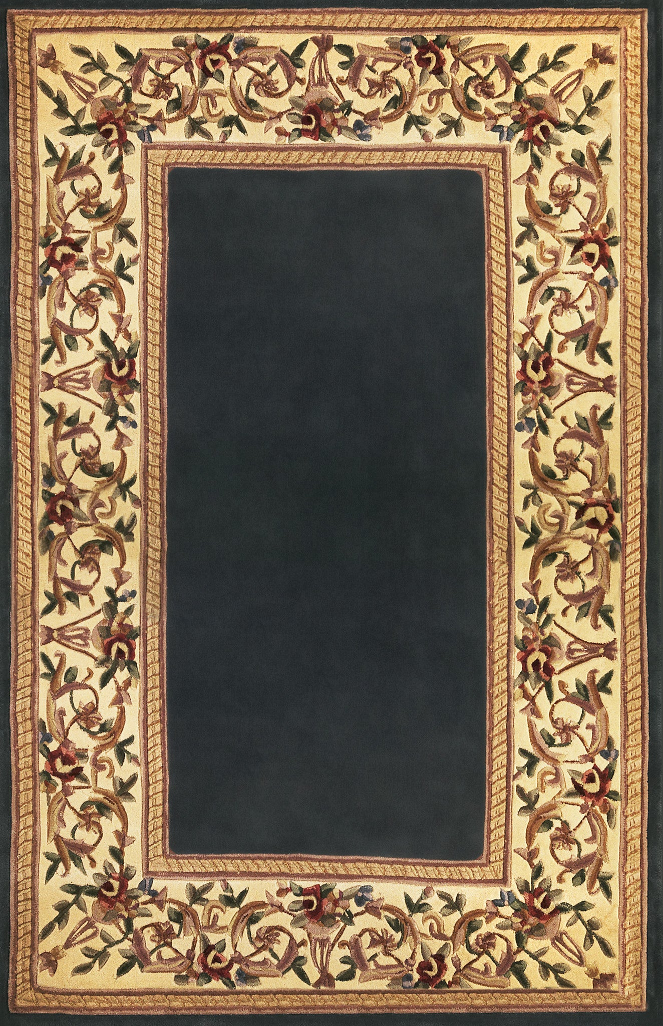 Kas Ruby 8881 Ivory Garden Area Rug Incredible Rugs And
