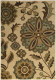 Surya River Home RVH-1000 White Area Rug by Mossy Oak
