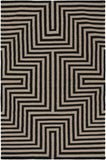 Surya Rivington RVT-5003 Black Area Rug