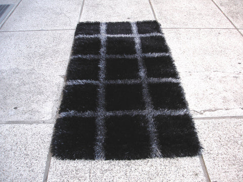 MAT Wako Safari Black/Grey Area Rug main image
