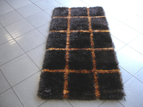 MAT Wako Safari Brown/Orange Area Rug main image