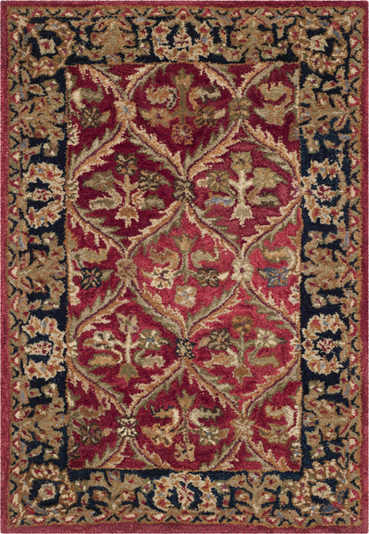 Safavieh Anatolia An610 Red Navy Area Rug Incredible Rugs And Decor