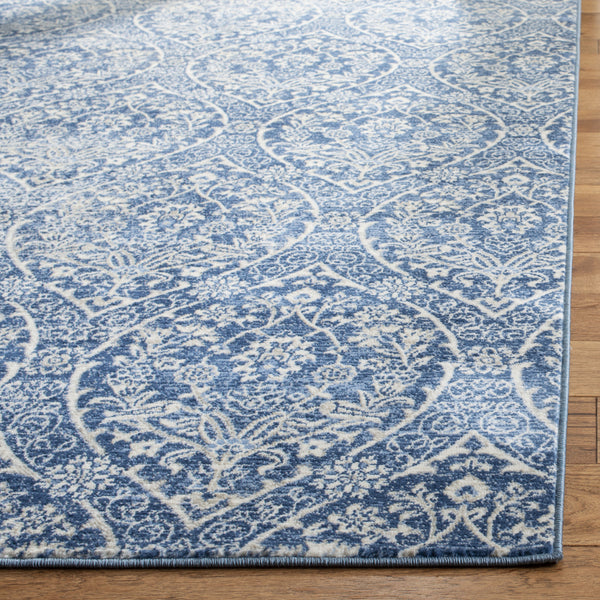 Safavieh Brentwood Bnt860m Navy Light Grey Area Rug