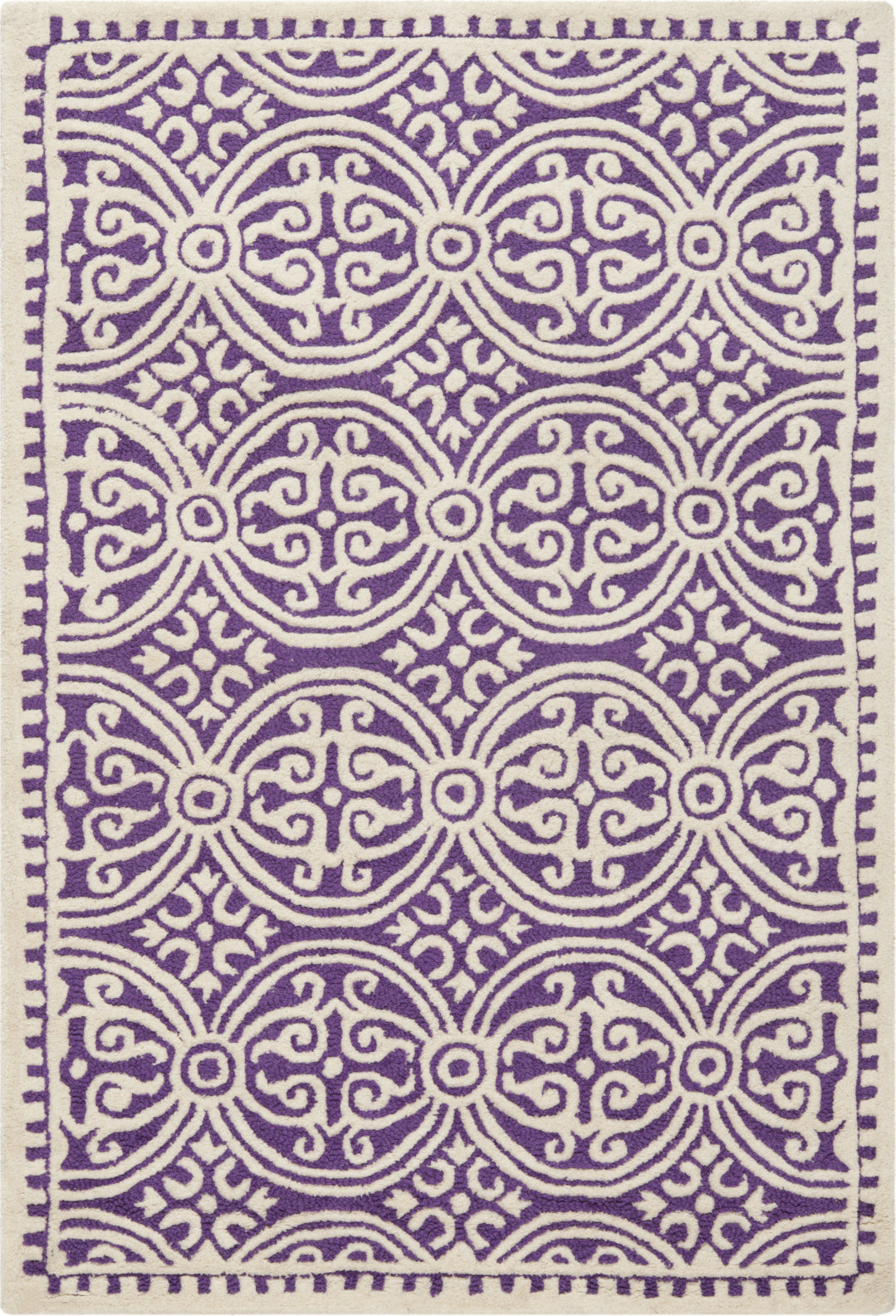 Safavieh Cambridge 123 Purple/Ivory Area Rug main image