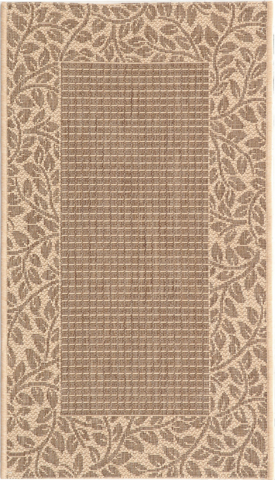 Safavieh Courtyard CY0727 Brown/Natural Area Rug main image