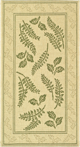 Safavieh Courtyard CY0772 Natural/Olive Area Rug main image