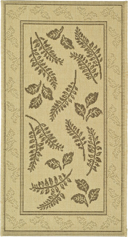 Safavieh Courtyard CY0772 Natural/Brown Area Rug main image