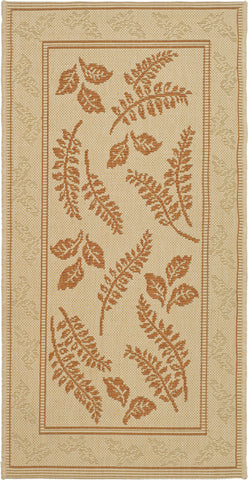 Safavieh Courtyard CY0772 Natural/Terra Area Rug main image