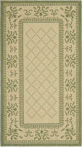 Safavieh Courtyard CY0901 Natural/Olive Area Rug main image